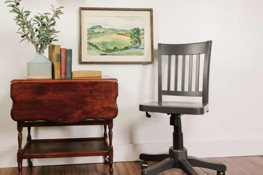 Flip Black Chair