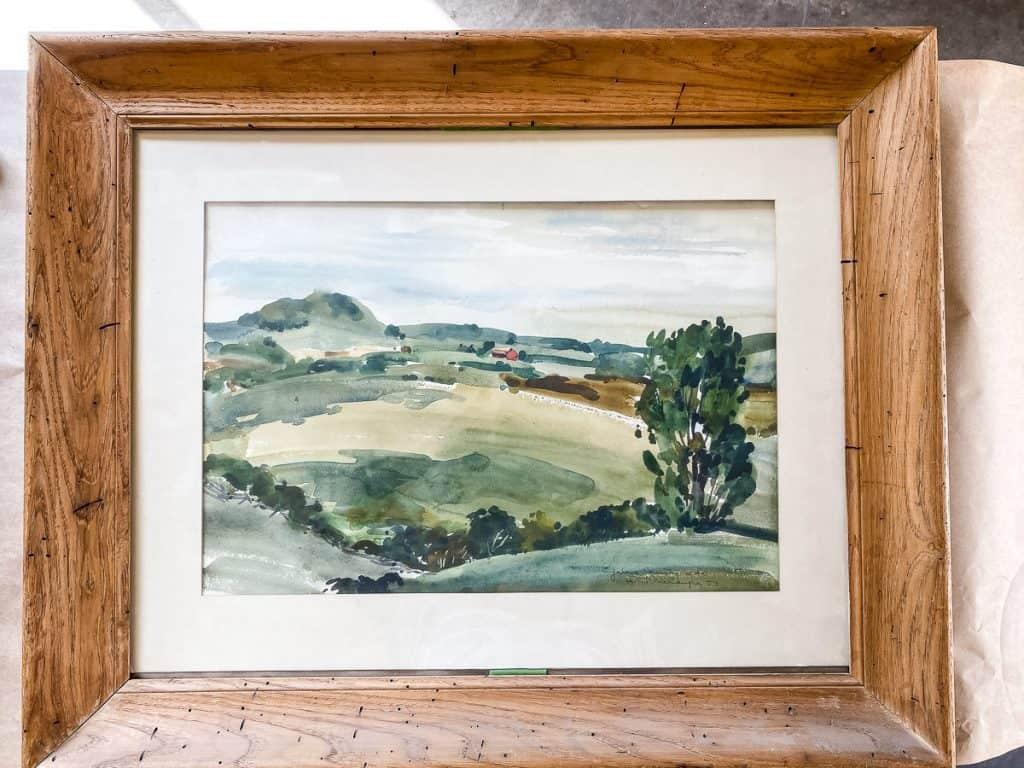 Vintage-Watercolor-Old-Frame
