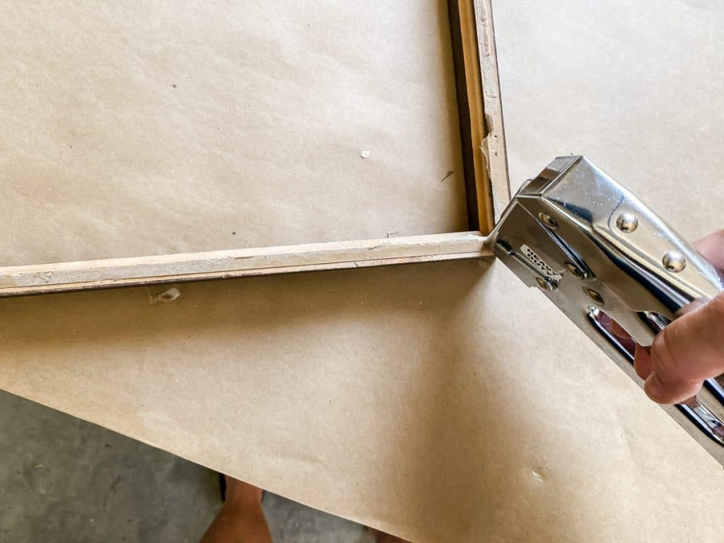 Stapling Picture Frame